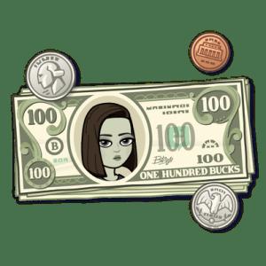 Bitmoji Money