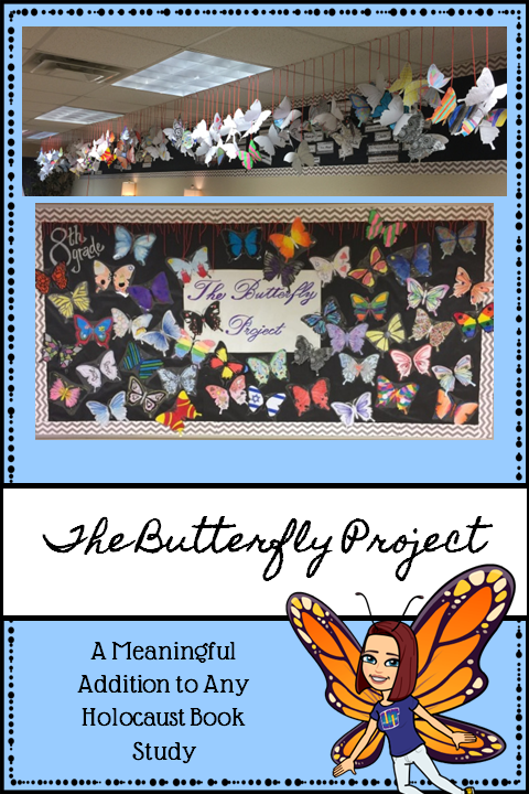 Butterfly Project Pin
