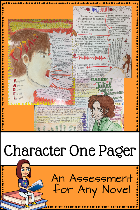 Character One Pager Pin