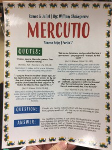 Mercutio One Pager
