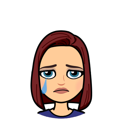 Bitmoji crying