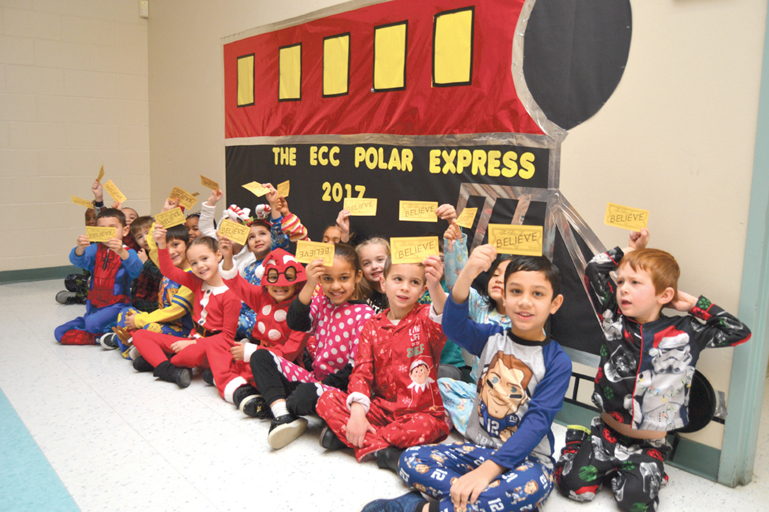 Polar Express Takes Students On Magical Journey