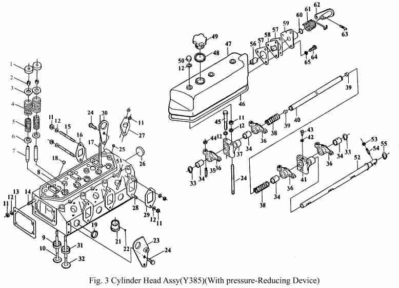 decompression lever KAMA ts254