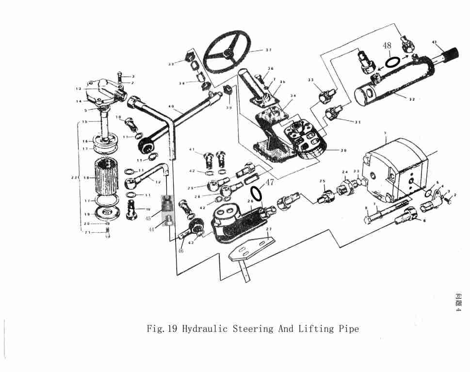 international cub tractor wiring diagram ford alternator