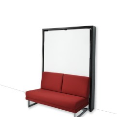 Sofa Bed Suitable For Everyday Use Mart Leather Warranty Vertical Houdini Wall-bed | John Strand Mk