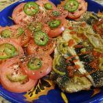 Kippered Herring with Siraracha and Jalapeño Paste