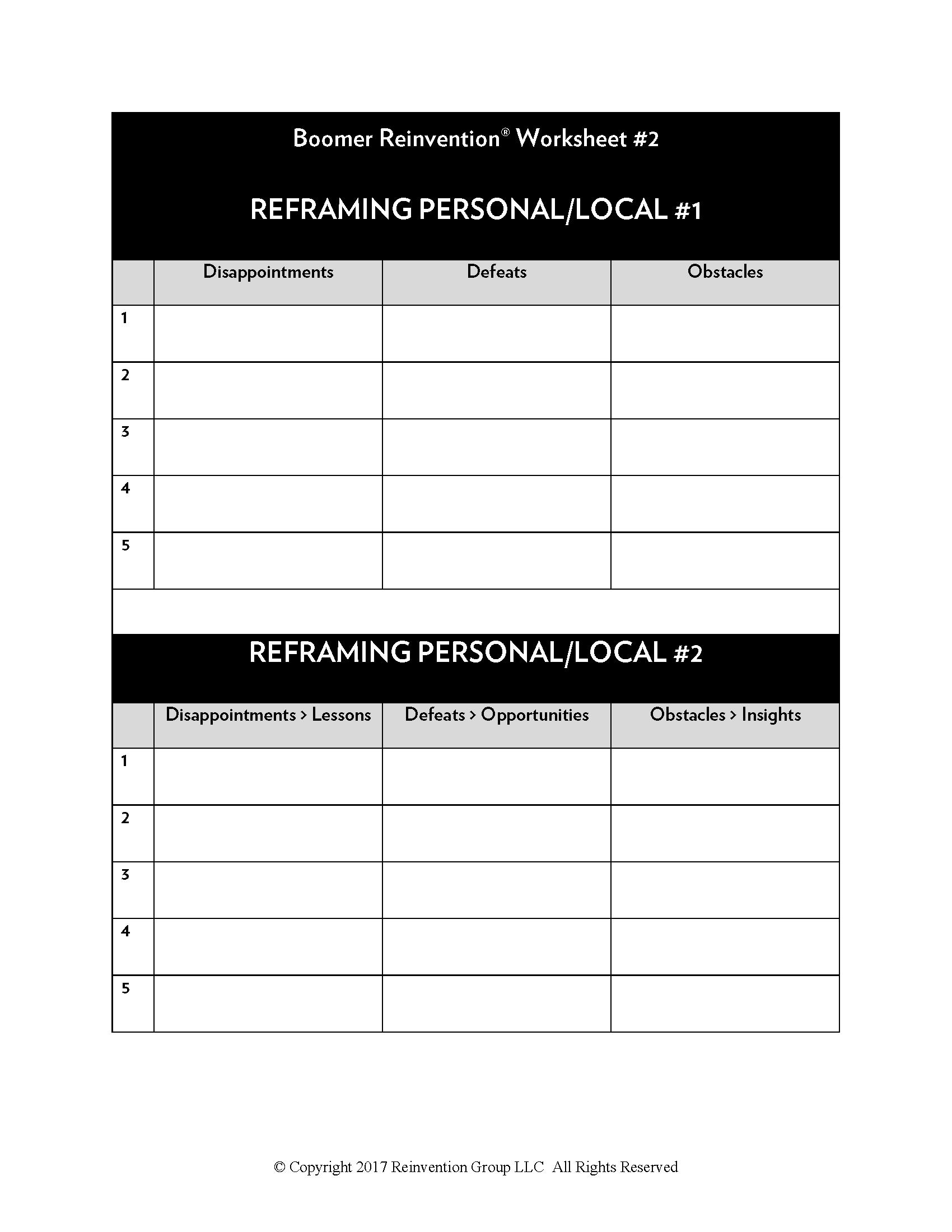 Br Worksheets