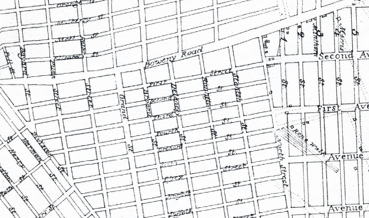 New York Map Grid
