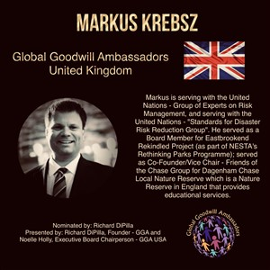 Markus Krebsz - United Kingdom - Global Goodwill Ambassador
