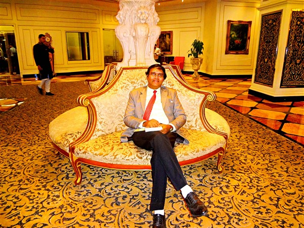 I work for a corporate and I support charity and voluntary initiatives - Ravi Kumar - Global Goodwill Ambassador GGA