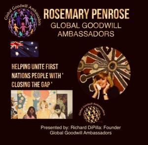 Rosemary Penrose Global Goodwill Ambassador Australia