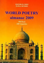 Cover of World Poetry almanac 2009 by Sendoo Hadaa