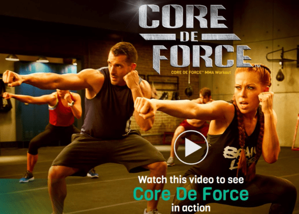 Core De Force Workout Details - John T Fitness