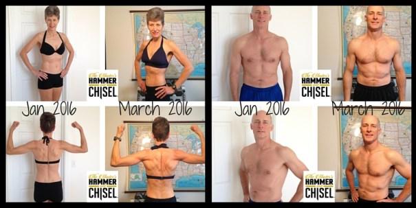 John & Susan Tantillo Hammer & Chisel Results