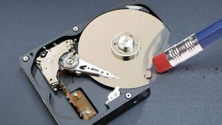 wipe hard drive