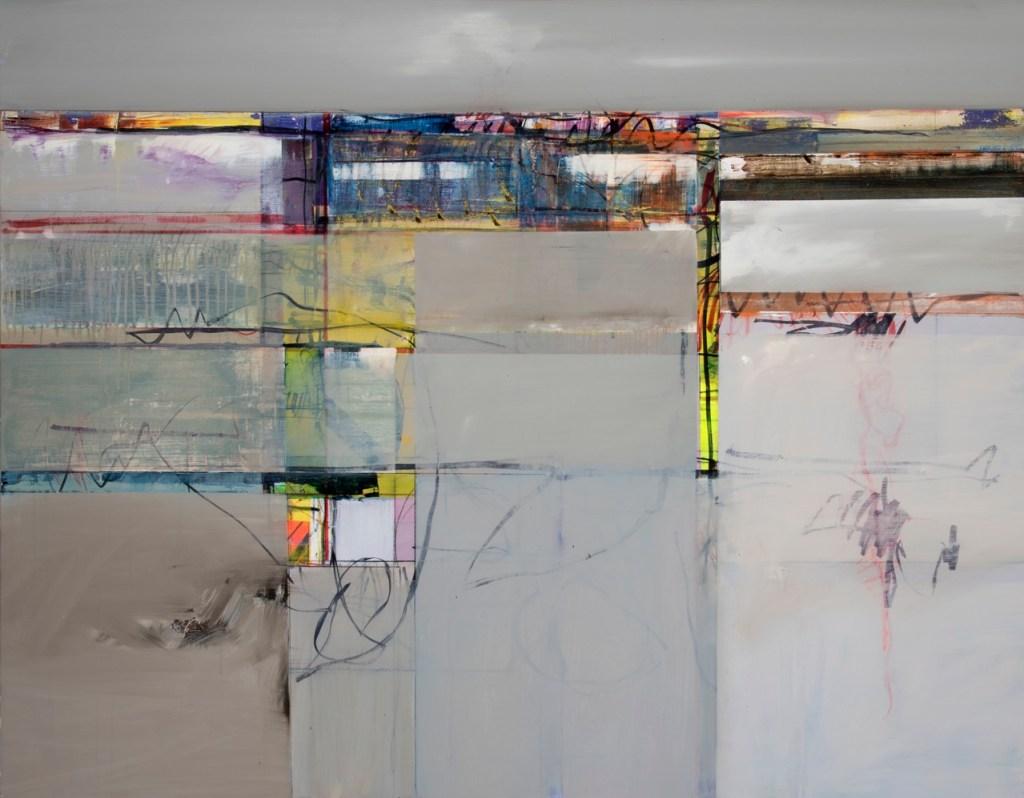 John Waller Memory and space 2 Oil on linen 110 x 120cm
