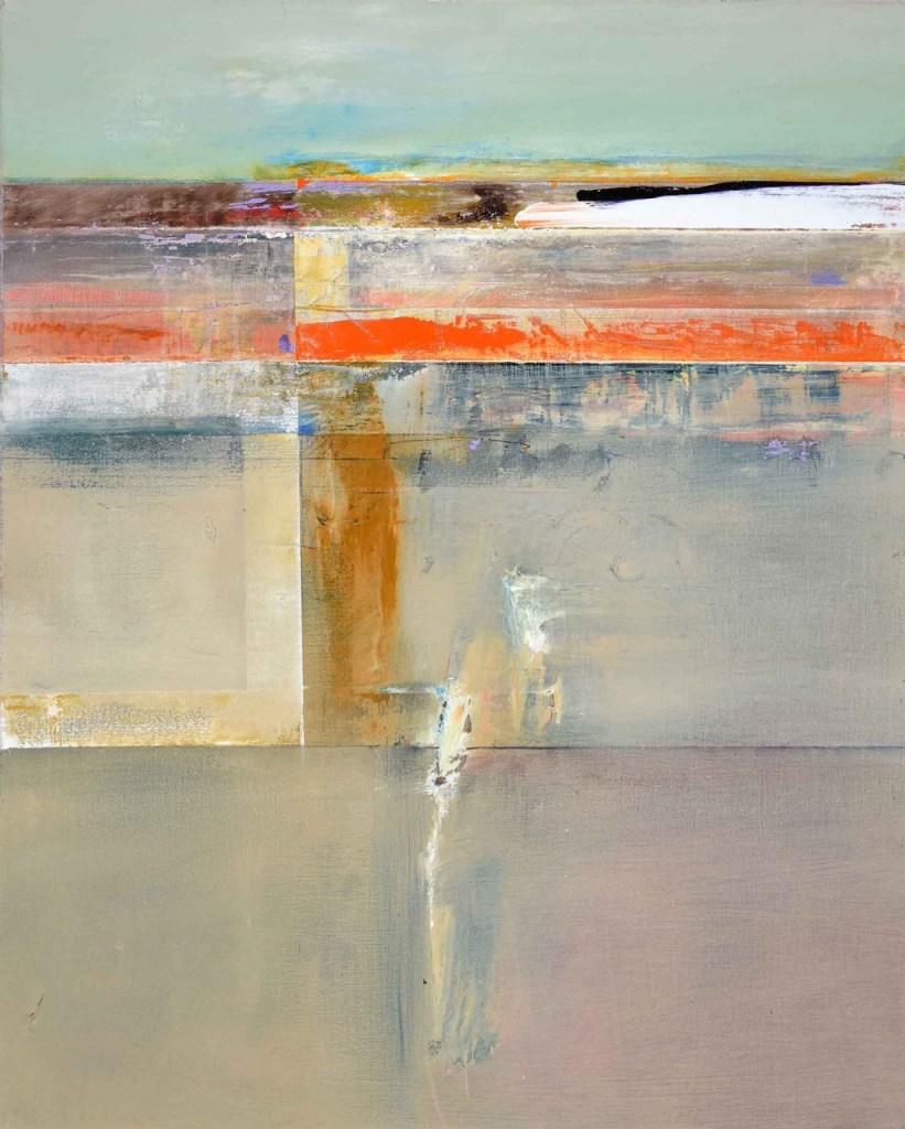John Waller Transformant 3 oil on linen 70 X 62 cm