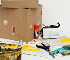 box with items for the cultural probe