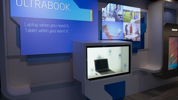 intel museum ultrabook exhibit