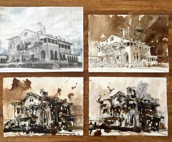 """Deering Estate Studies"" by John William Bailly"