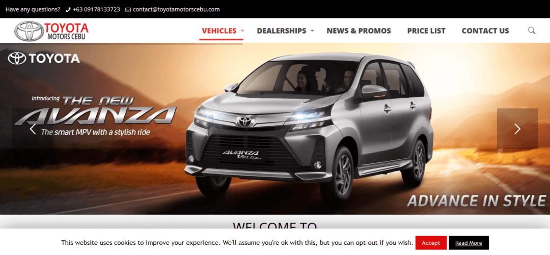 Toyota Motors Cebu