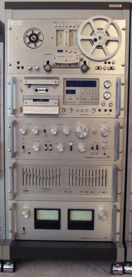 Pioneer SPEC Rack Photos
