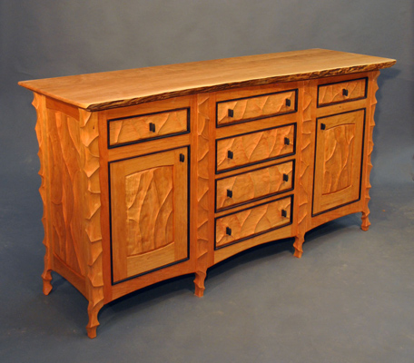 Birdseye Maple Dresser