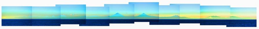 00127Guatamala Coast 1a Panorama Sat Flat