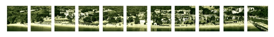 00129Huatulco Panorama 1 Spaced Cropped Flat bw color