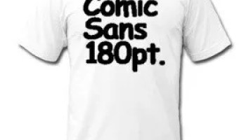 National Comic Sans day October 1 - John Wilker, Writer