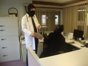 A Day in the Office: A Dr. McNinja Cosplay Story (3/6)