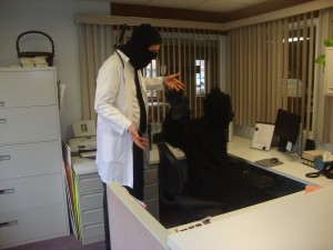 A Day in the Office: A Dr. McNinja Cosplay Story (4/6)