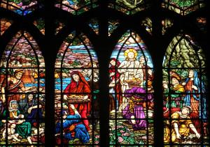 PARIS, FRANCE - NOV 09,2012:Feeding 5000 men and their families,