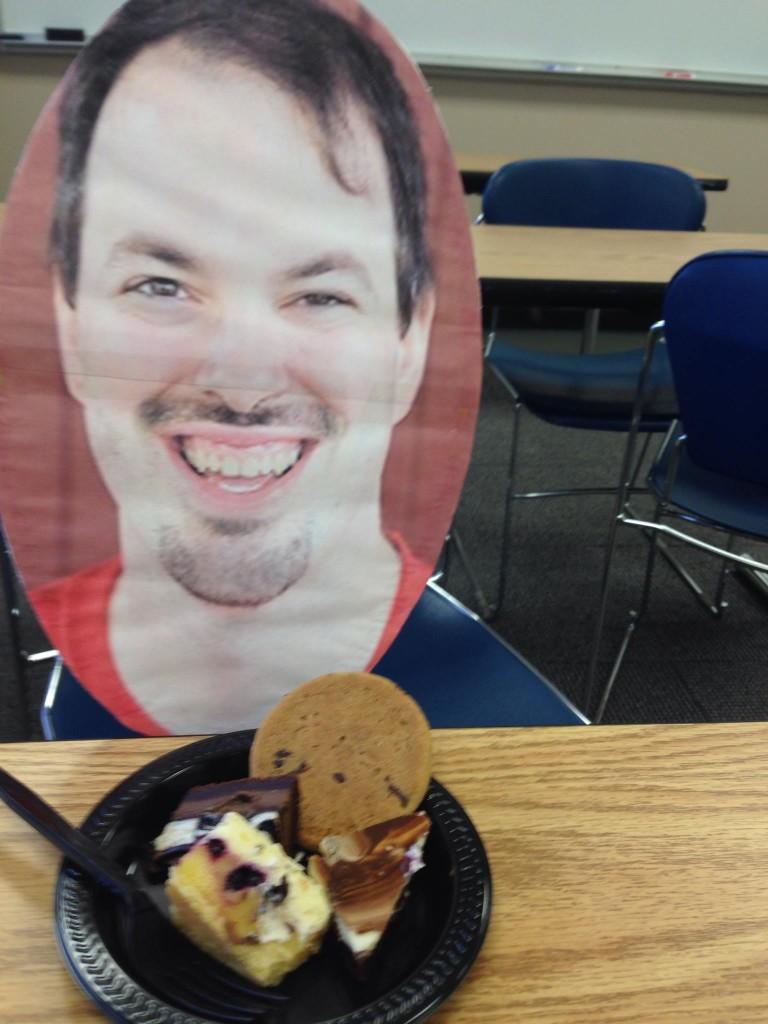 John and desserts