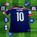 2014W杯日本代表 選手着用10 香川 真司  S/M/L/XL 名変可
