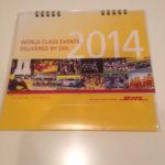 即決DHL カレンダー 2014年香川真司サッカーレアコレクター #香川真司 #サッカー #followme