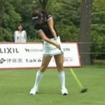 【ゴルフスイング】女子プロはどれだけ飛ばすのか!? トラックマン #スポーツニュース #followme