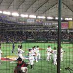 侍ジャパン開幕戦ウォーミングアップ #スポーツニュース #followme