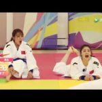 沈梦辰挑战200斤柔道队员! #スポーツニュース #followme