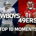 Cowboys vs. 49ers: Top 10 Greatest Moments in the Historic Rivalry | NFL Highlights #スポーツニュース #followme