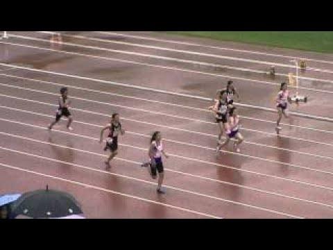 20140608第30回札幌小学生陸上競技記録会 女子小6 100m予選1組 #スポーツニュース #followme