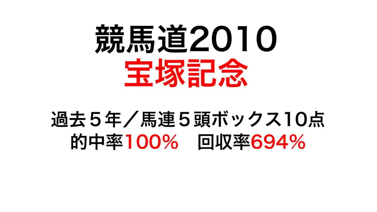 競馬道2010で2018宝塚記念を過去5回的中率100%理論で予測! #スポーツニュース #followme
