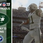 🏈 Week 13 @TITANS | Madden NFL 19 Franchise-Modus ✈JETS | Episode 17 (DE) #スポーツニュース #followme