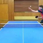 【卓球】フランチスカの神サーブ Franziska's trick serve #スポーツニュース #followme