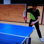 卓球 一枚ラバーでチキータ気味のバックハンドドライブ攻撃 #スポーツニュース #followme