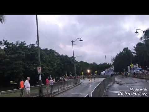 【松井一矢】カラカウアメリーマイル(約1.6km)マラソン2018 / ハワイ・ホノルル・ワイキキビーチ前を全力ダッシュ!! #トラベル #旅行 #followme