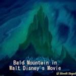 1846 Walt Disney in Mystery謎のウォルト・ディスニー・悪魔の山Bald Mountain in Fantasia by Hiroshi Hayashi, Japan #ディズニー #Disney #followme