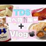 【TDS】ディズニーシーのパーク内のオススメの食べ物🍖編💞【Vlog】 #ディズニー #Disney #followme