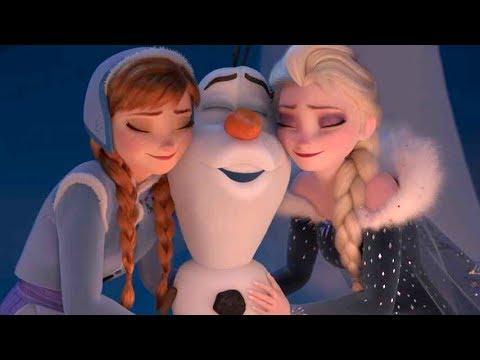 アナとエルサにまた会える!オラフも奮闘!映画『アナと雪の女王/家族の思い出』BD&DVD予告編 #ディズニー #Disney #followme