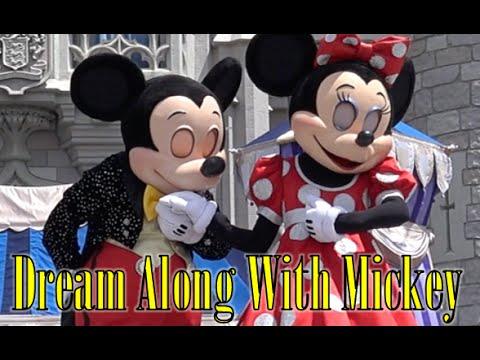 ºoº [4K] 表情豊かなミッキーたち♪ ディズニーワールド キャッスルショー ドリームアロングウィズミッキー Dream Along With Mickey at Magic Kingdom #ディズニー #Disney #followme
